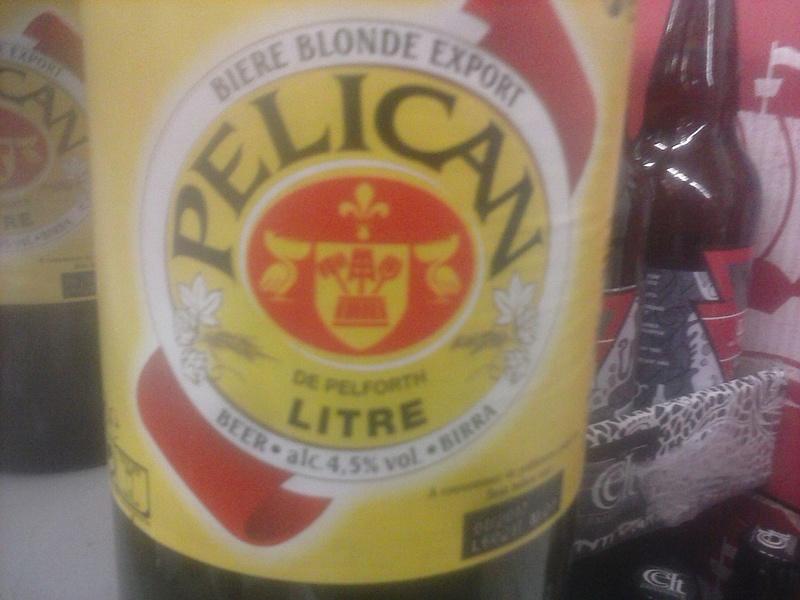 Bière : La Pélican / Pelforth Pylica10
