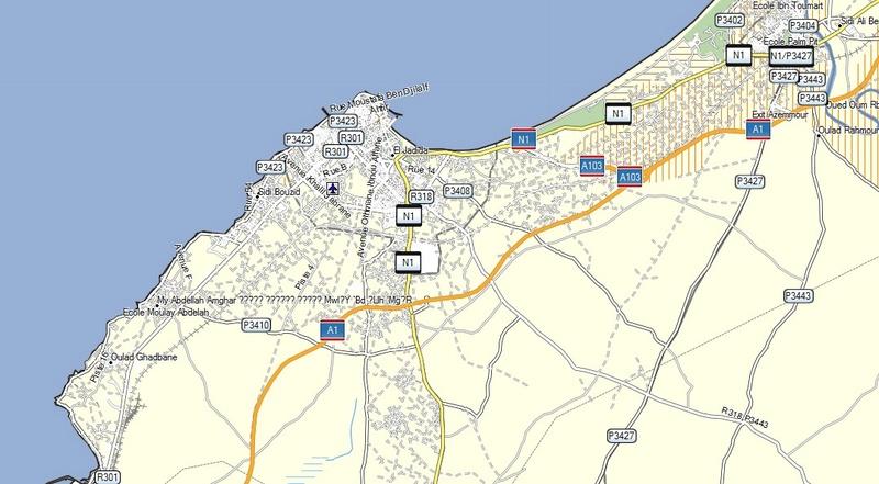 [Carburant, Routes, Police] Autoroute Mohammedia SAFI A1_2el10