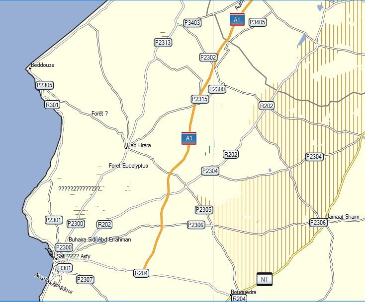 [Carburant, Routes, Police] Autoroute Mohammedia SAFI A1_4sa10