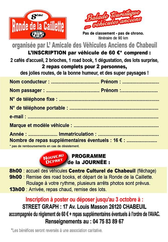 [26] 16/10/2016 - 8ème Ronde de la Caillette - Chabeuil  14141510