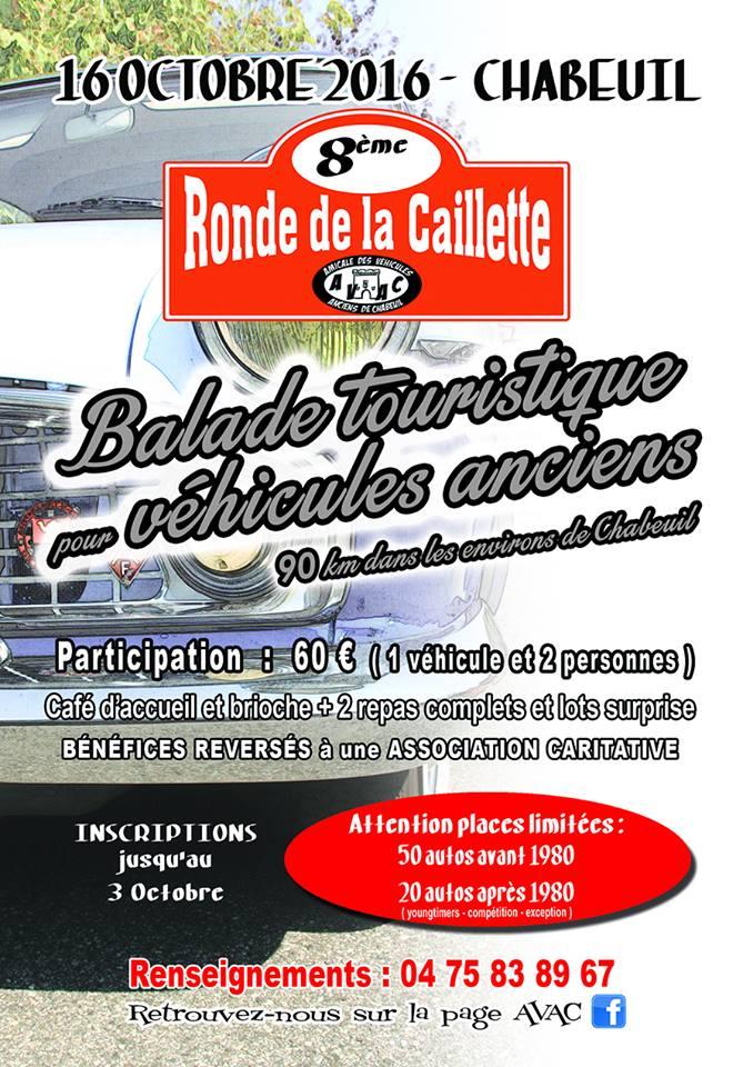 [26] 16/10/2016 - 8ème Ronde de la Caillette - Chabeuil  14141810
