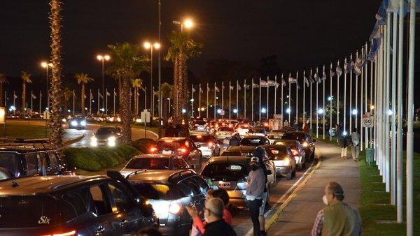 Tigre: Convocan a una nueva caravana contra la cuarentena. 001117