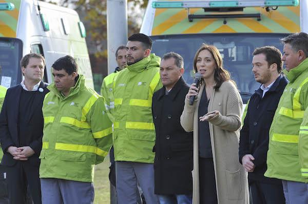 """El SAME ya funciona en el Partido de Moreno: """"Para garantizarles a todos los vecinos que, ante una dificultad, no van a estar solos"""", sostuvo Vidal. 00123"""