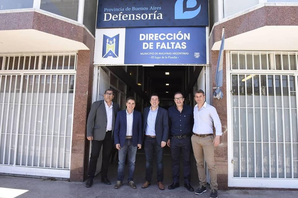 Malvinas Argentinas: Inauguraron la Defensoría del Pueblo. 00133