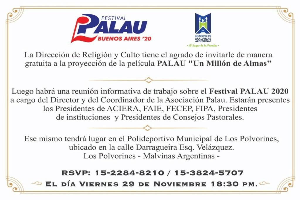 Malvinas Argentinas: Festival Palau 2020 en el polideportivo de Los Polvorines. 00214