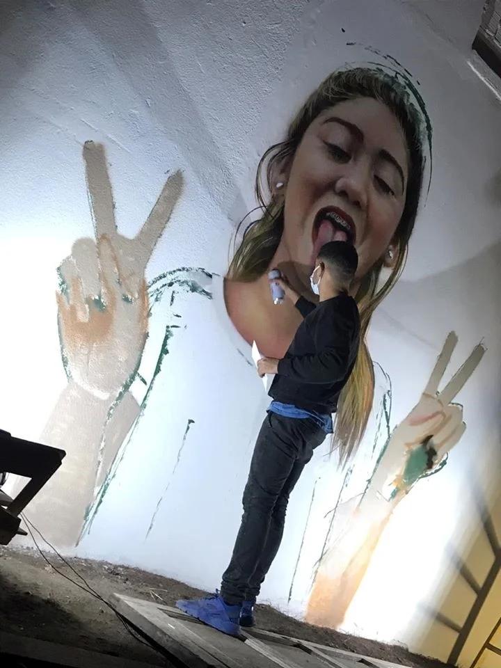 Soul Dance sigue vivo. Por Valentina Arias: la familia pintó un mural y sueña con abrir una escuela de baile. 00215