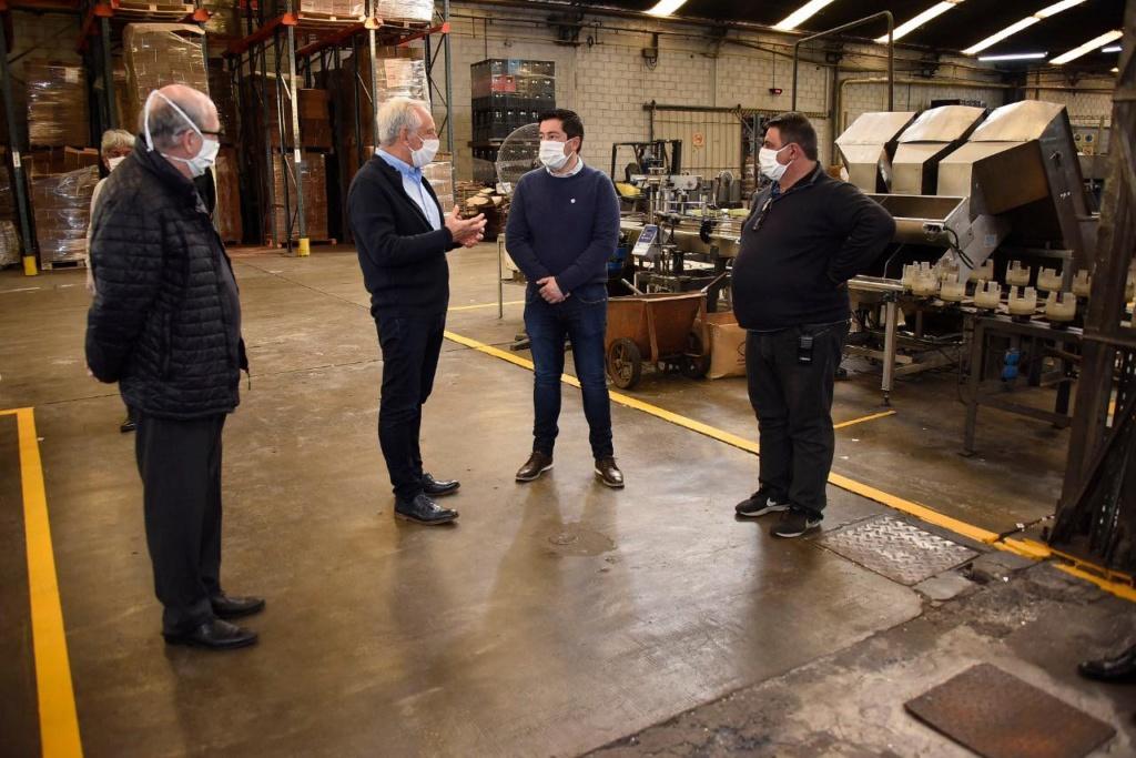 Malvinas Argentinas: Nardini visitó industrias que están operando 10071410