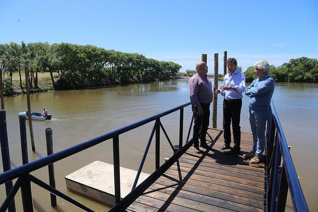 De San Isidro a Puerto Madero: Última etapa de obras en el muelle flotante _car3312