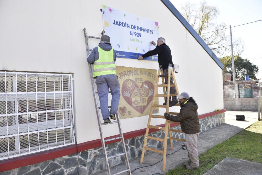 Malvinas Argentinas: mantenimiento preventivo escolar. _car3610