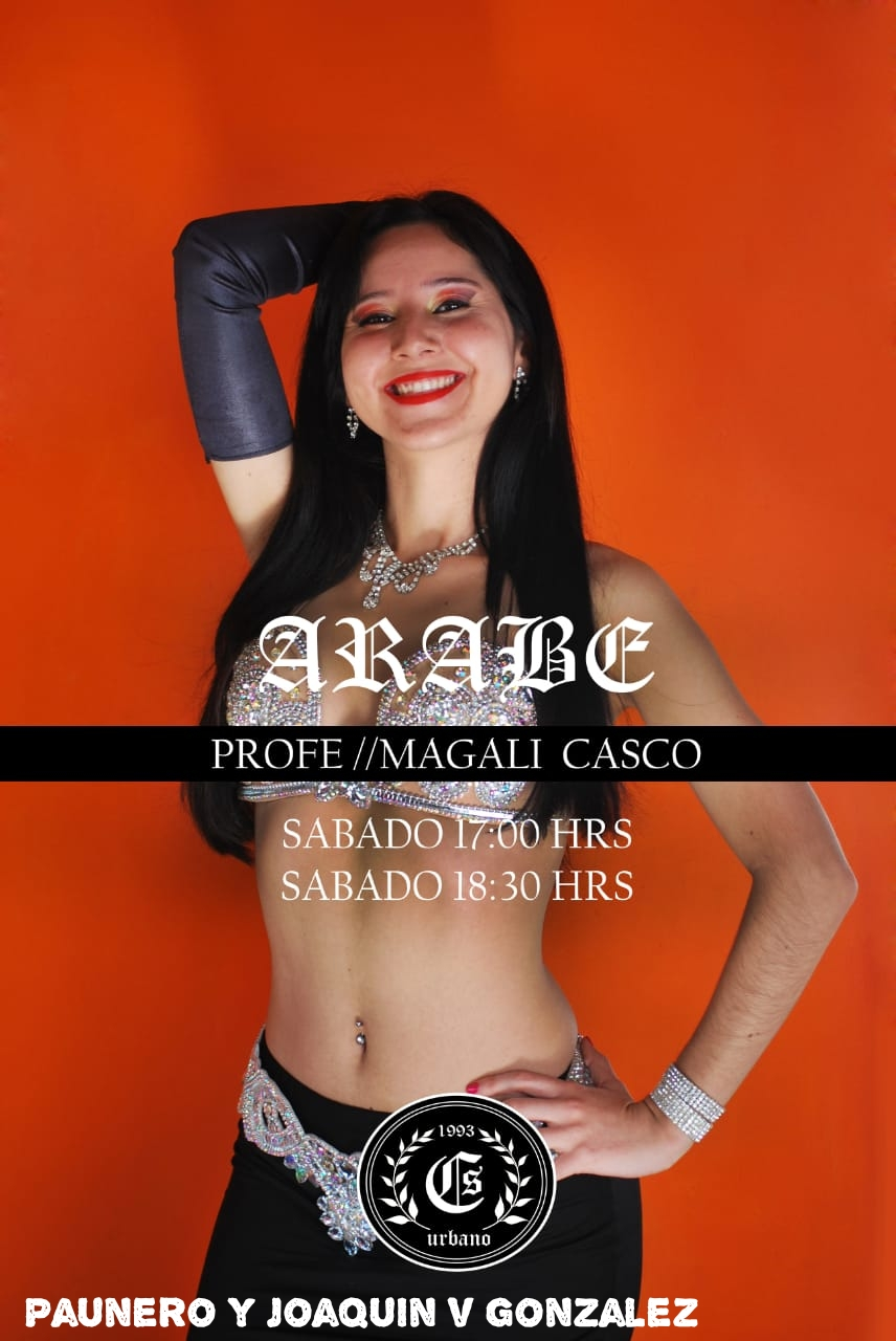 "Magalí Casco está en ""CS Urbano"", en José C. Paz. Arabe_14"