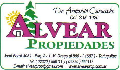 En Tortuguitas, siempre con vos, ALVEAR PROPIEDADES, décadas al servicio del cliente. Armand35