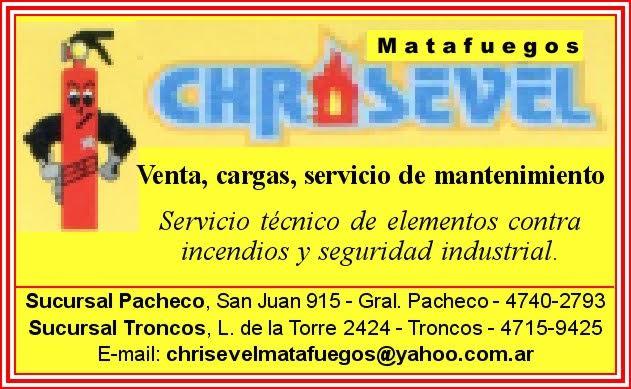 Sinónimo de seguridad es Chrisevel. Aviso116
