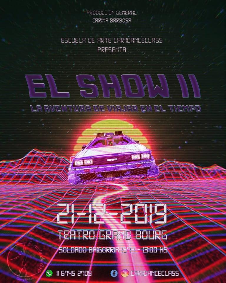 """bourg - En diciembre el teatro Grand Bourg y """"EL SHOW"""". Aviso140"""