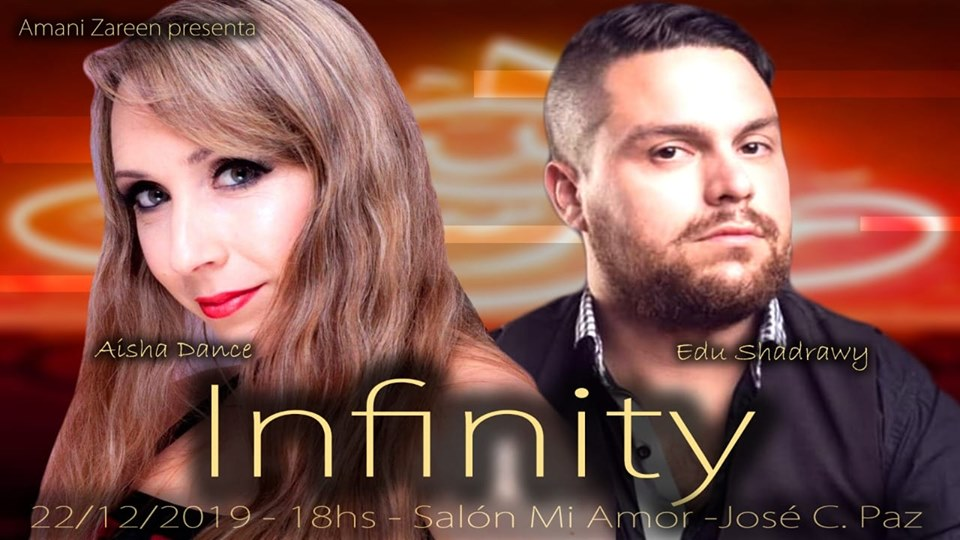 "Amani Zareen presenta ""Infinity"". Aviso150"