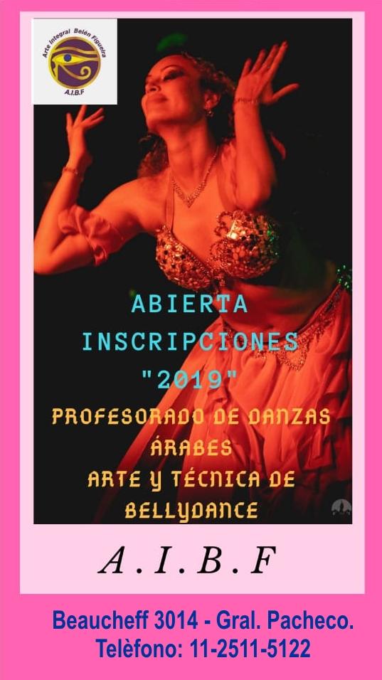 inscripcion - En Tigre, toda la danza la tenés en A.I.B.F. Inscripción 2019 abierta. Aviso_68