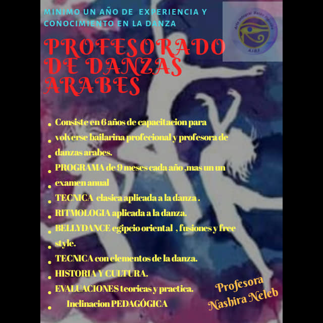 Tigre: profesorado de danza, inscripción abierta. Aviso_85