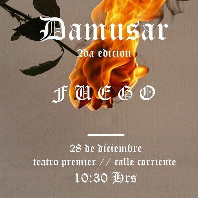 """Y llega el gran día... Mañana... """"Damusar-Fuego"""", 1º muestra anual de CS Urbano. Damusa10"""