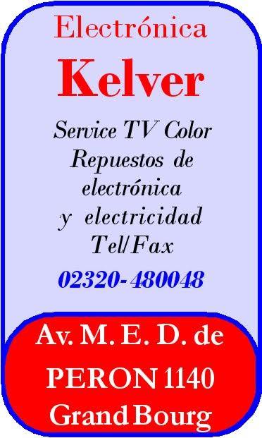 """En Grand Bourg, siempre """"Electrónica KELVER"""". Electr19"""