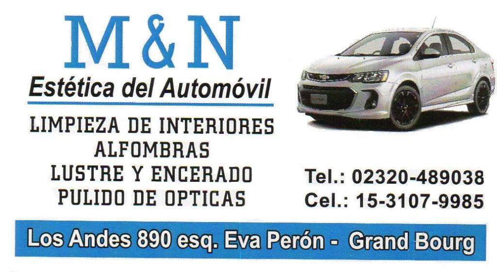 M & N la mejor estética para tu automóvil. Esteti12