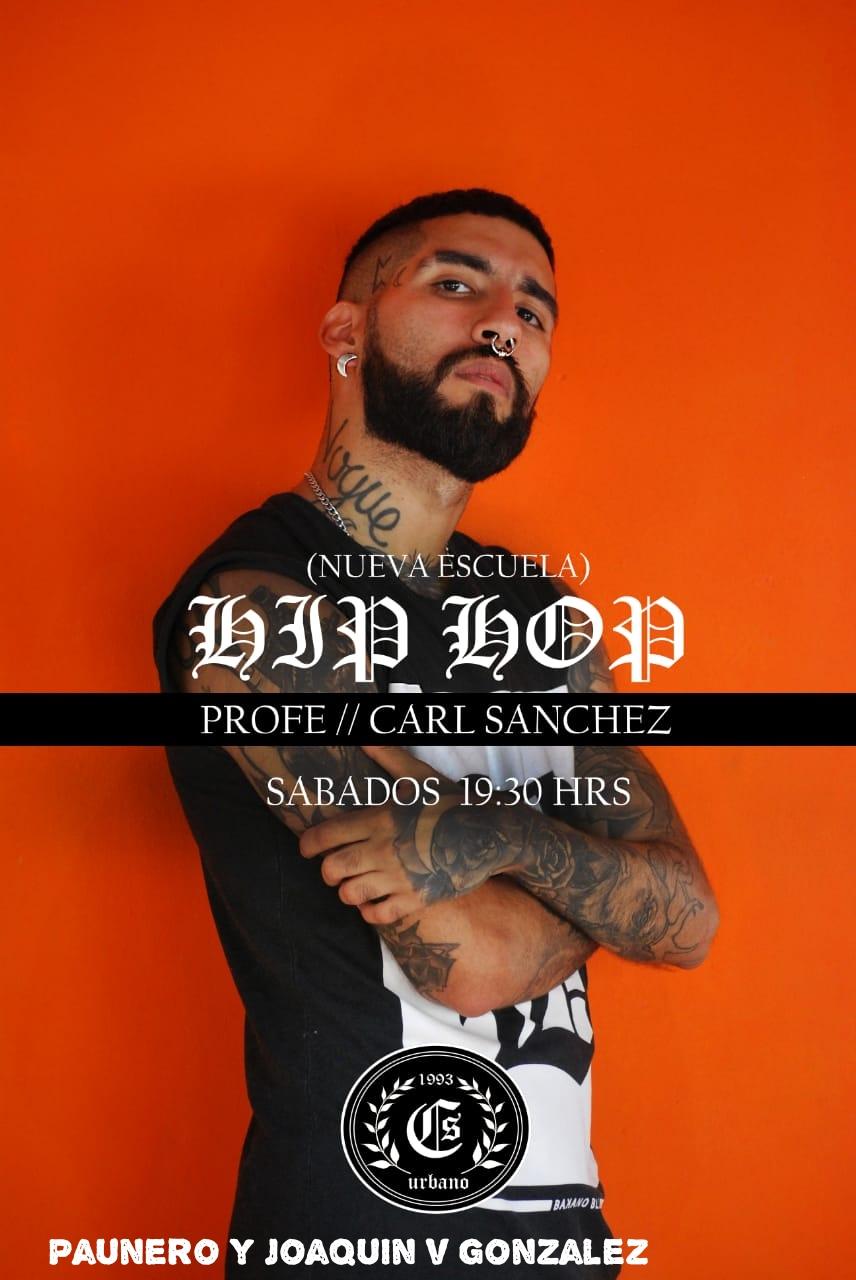 Carl Sánchez, sinónimo de hip hop en CS Urbano. Hip_ho12