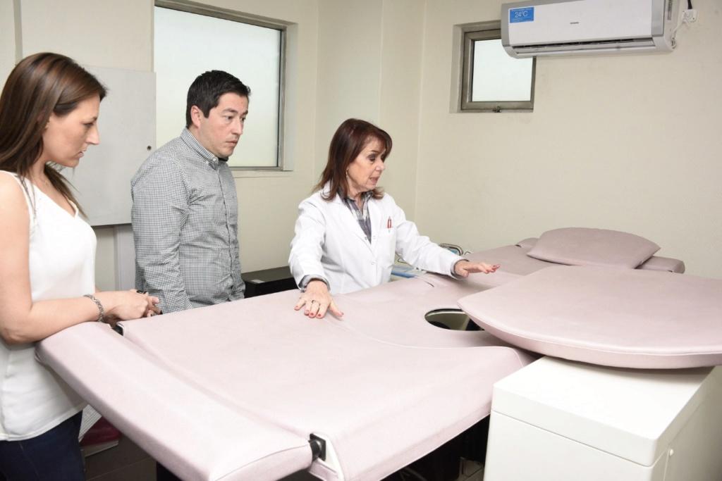 Malvinas Argentinas: Inauguraron Centro de Diagnóstico de Patología Mamaria. Img-2012