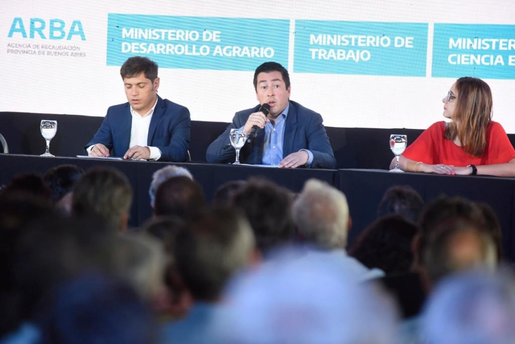 Malvinas Argentinas: Kicillof y Nardini presentaron el programa ARRIBA PYMES. Img-2035