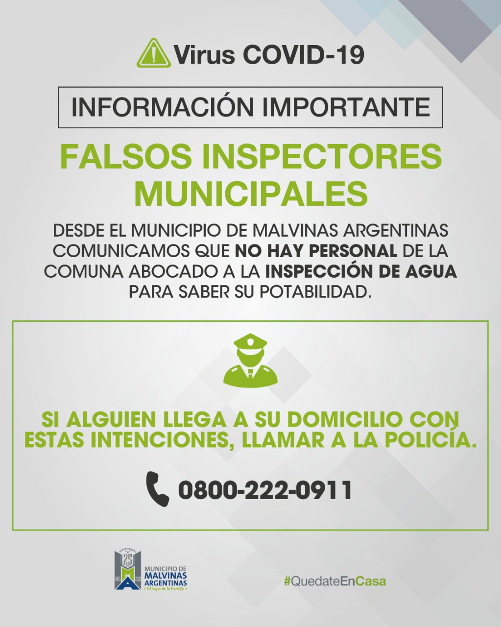 Malvinas Argentinas: alerta sobre falsos inspectores. Img-2052