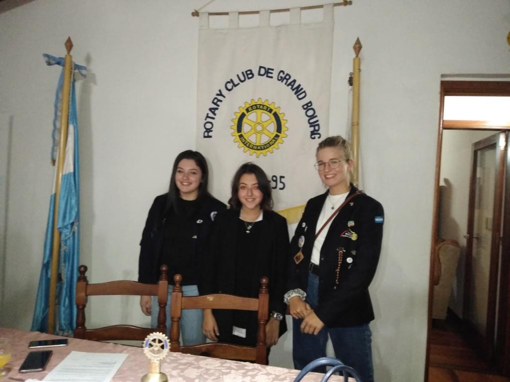bourg - Malvinas Argentinas: Rotary Club Grand Bourg y embajadoras del mundo. Img_2011