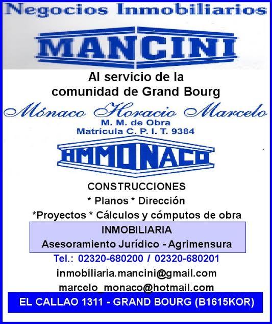 "bourg - En Grand Bourg, si de inmobiliaria se trata. la marca es ""MANCINI"". Mancin14"