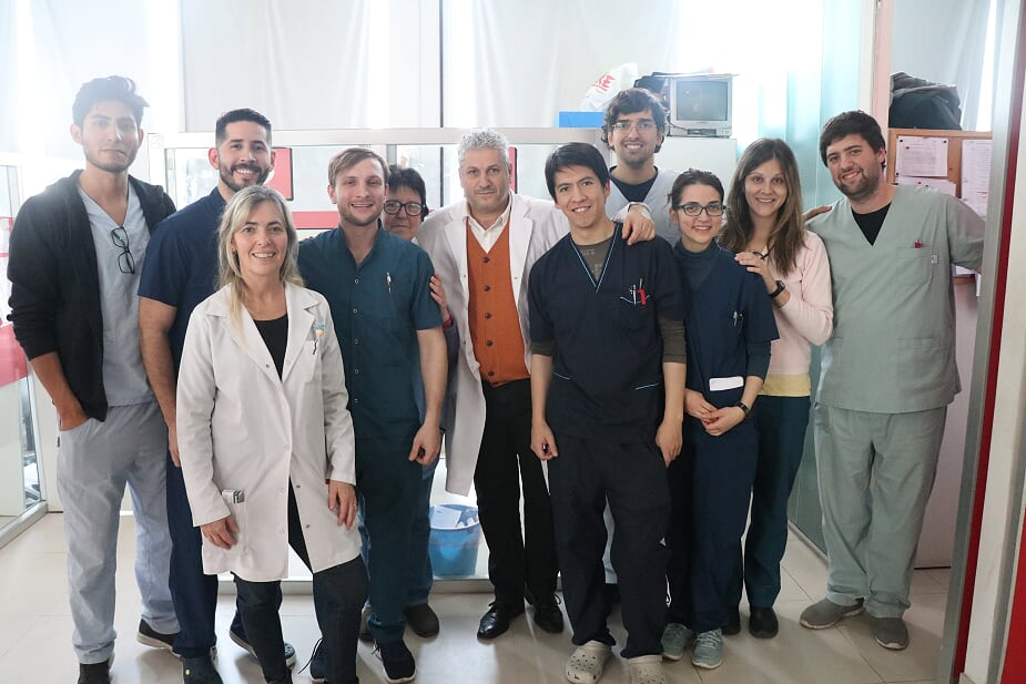 Malvinas Argentinas en el Congreso de Otorrinolaringología. Otorri10