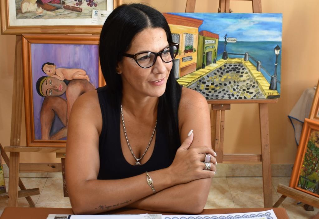 """Malvinas Argentinas. Paola Bustos:  """"les digo a mis hijas querer es poder"""". Paola_10"""