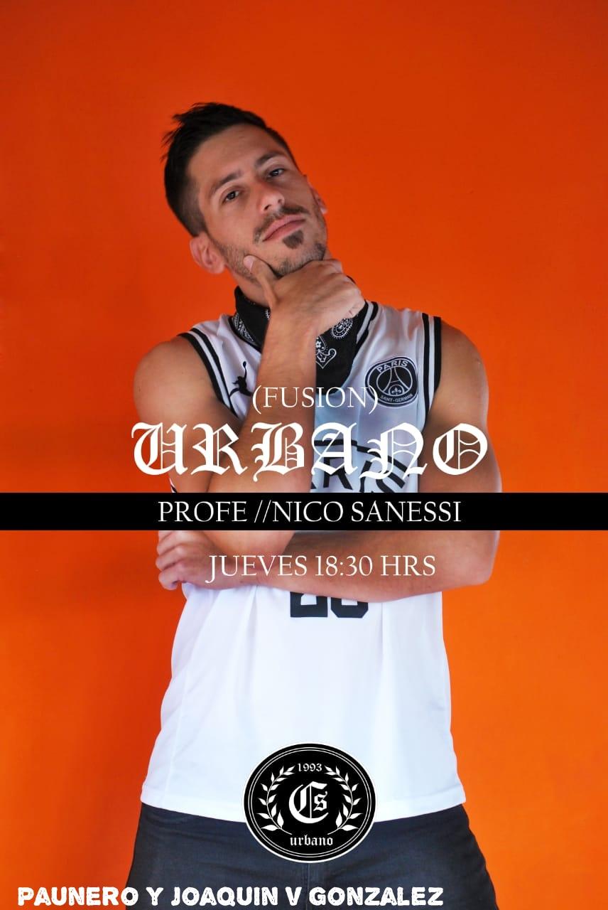 Nico Sanessi es parte de CS Urbano y vos? Urbano11