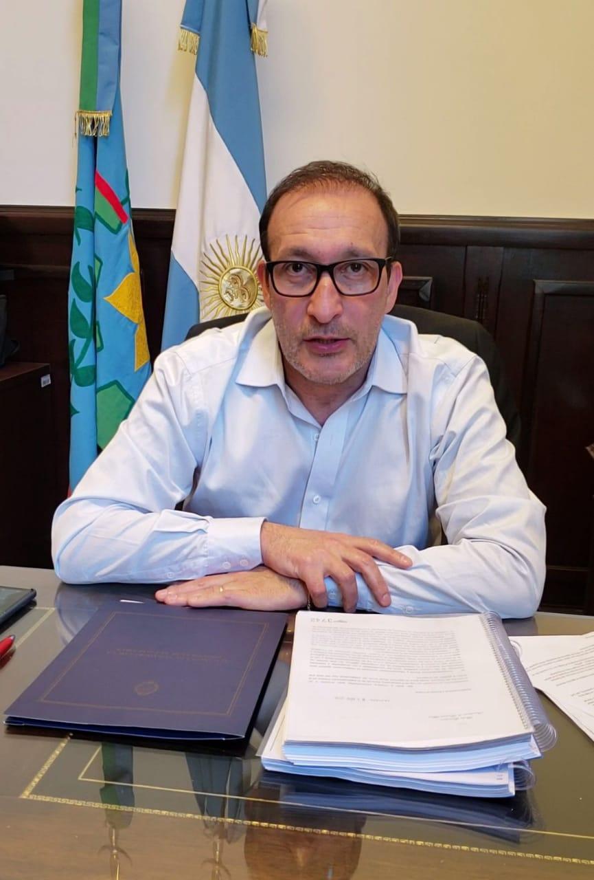 """Luis Vivona: """"otra realidad es posible y que urge que se logre"""". Whatsa15"""