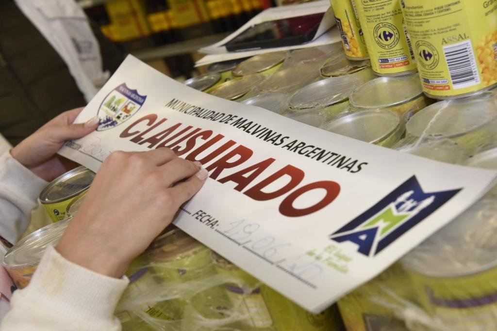 Malvinas Argentinas: Nuevo operativo en Carrefour. Whatsa33