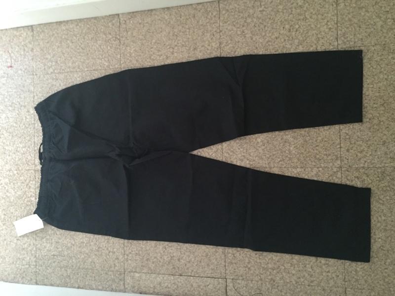 Pantalon noir en coton - [VENDU]  Img_0711