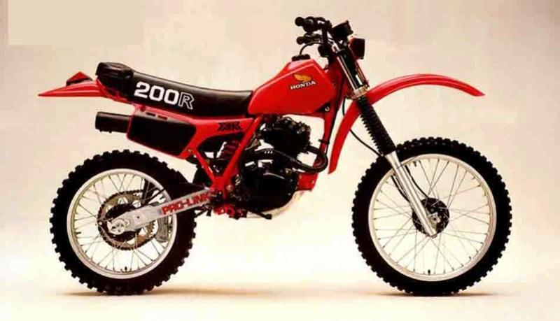 Bonjour les gars depuis une PE175 X (1981) Honda_10