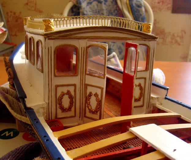 Canot imperial de Napoléon Cabine12