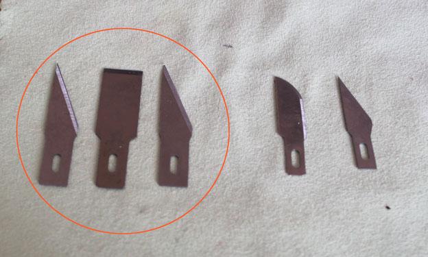Quels porte-lames choisir suivant la taille des cutters ? Lames10