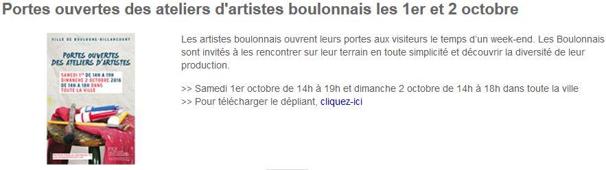 Portes ouvertes des ateliers d'artistes boulonnais Clipb130