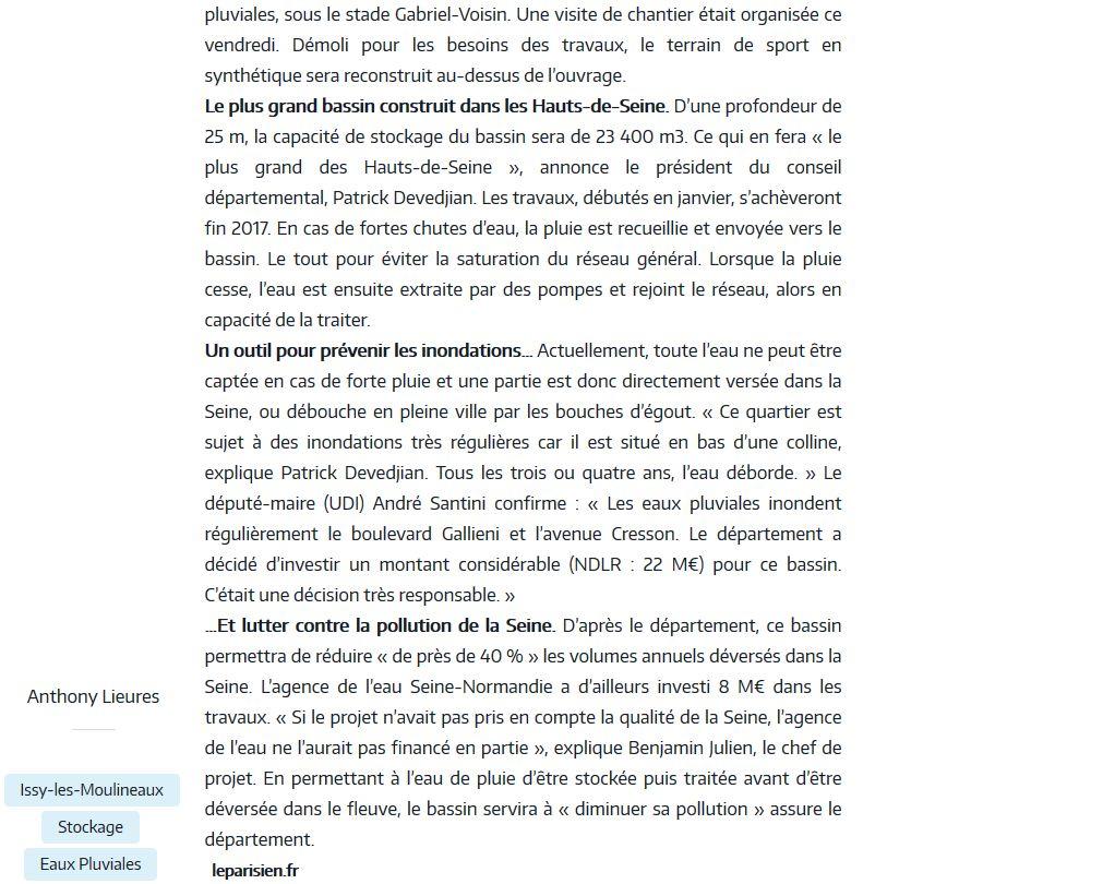 Crues de la Seine Clipb147