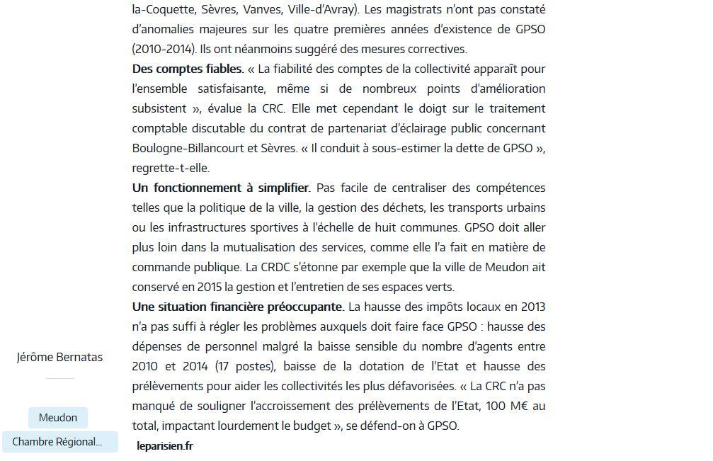 Informations de GPSO Clipb151