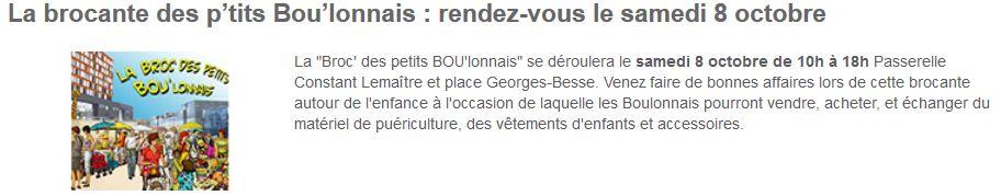 Brocante - Broc' des petits boulonnais Clipb172