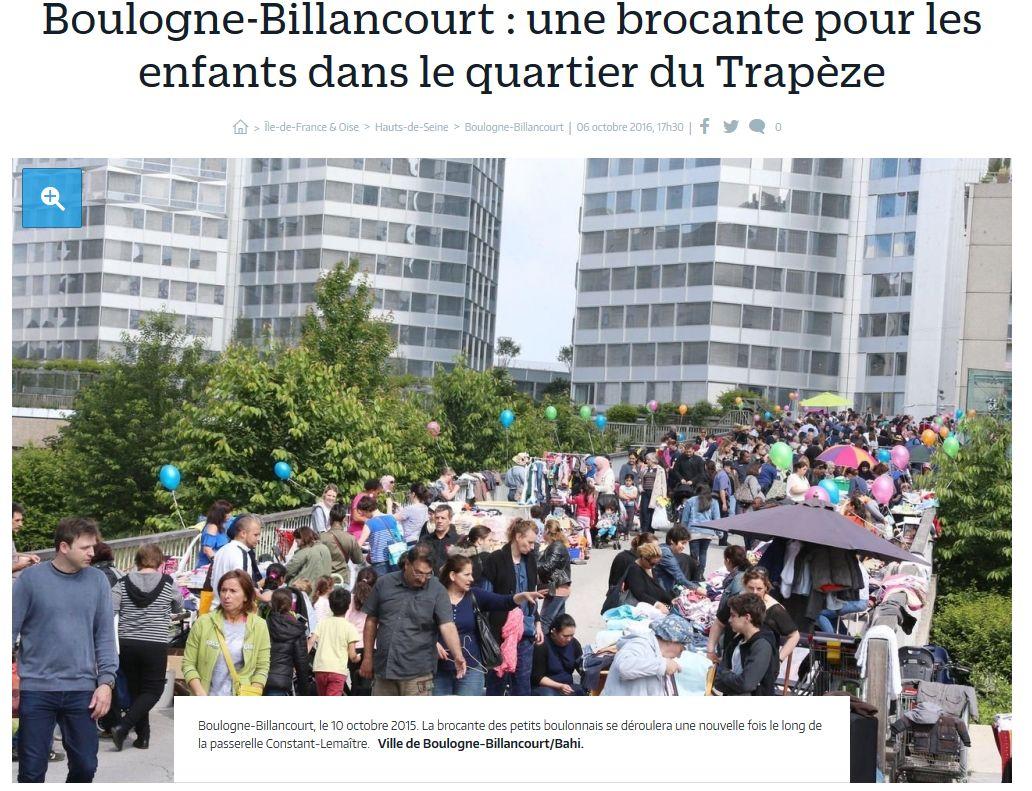 Brocante - Broc' des petits boulonnais Clipb174