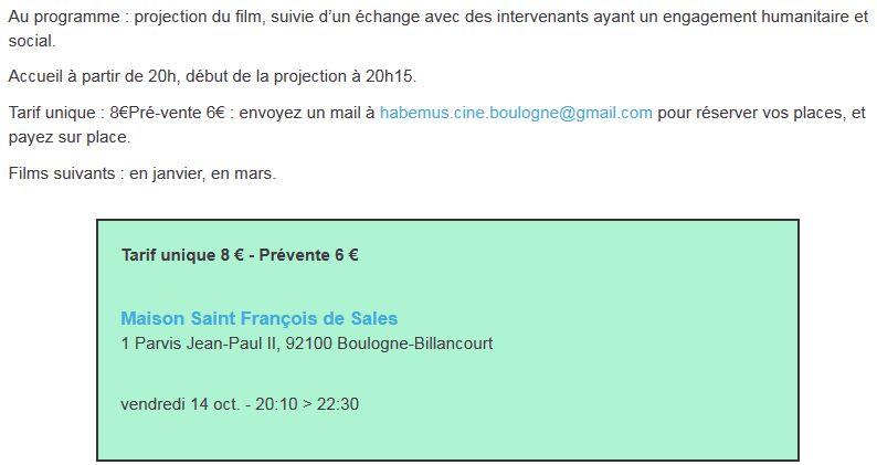 Evènements proposés par la Maison Saint François de Sales Clipb208