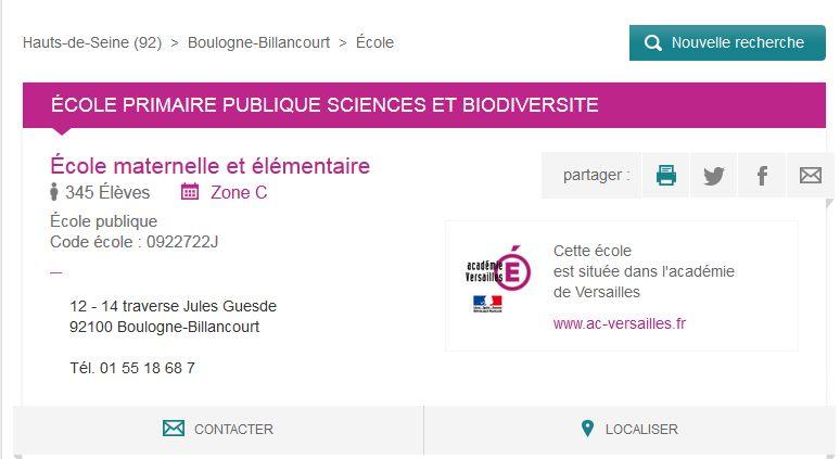 Groupe scolaire des Sciences et de la Biodiversité : informations et photos Clipb211