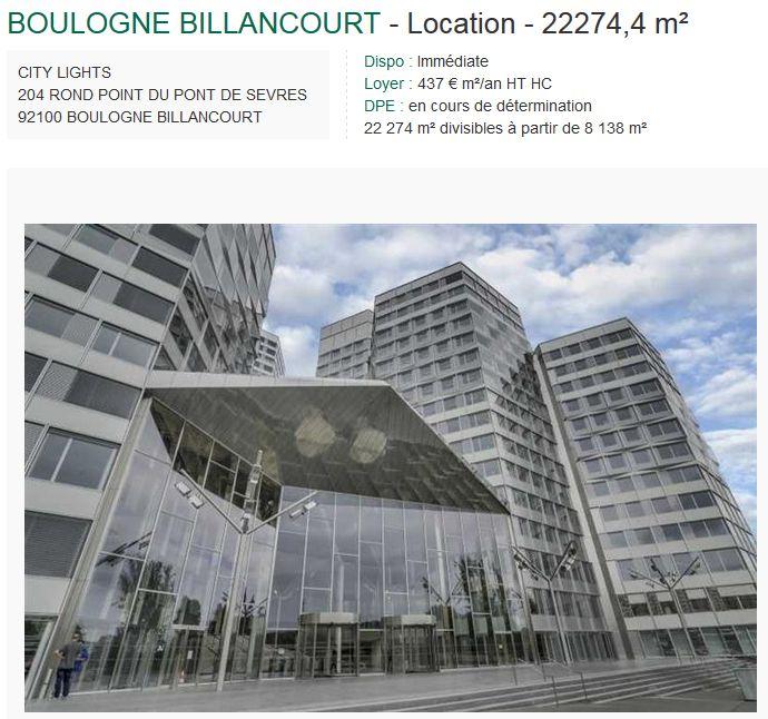 Immeuble Citylights (tours) Clipb255
