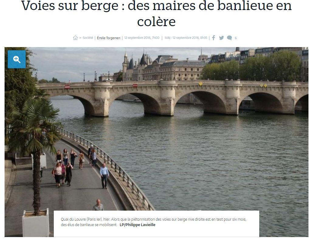 Aménagement et usages des voies sur berges à Paris Clipbo48