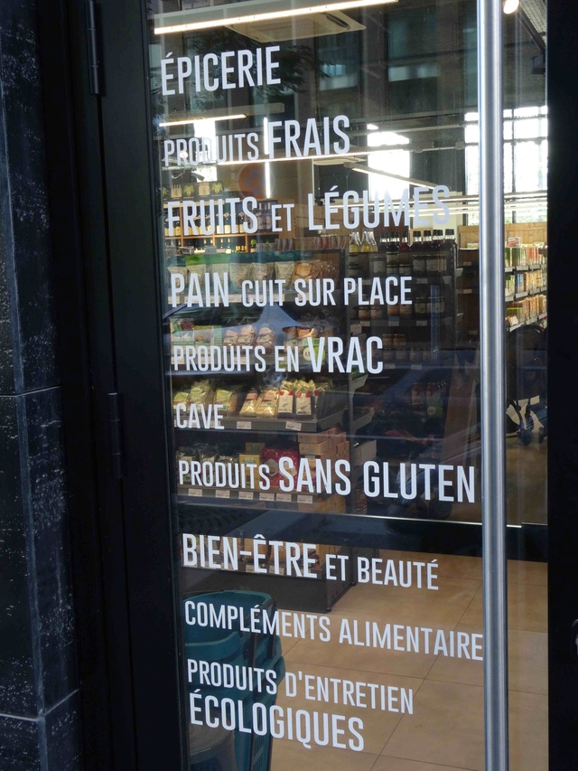 Magasin La Vie Claire Dsc01616