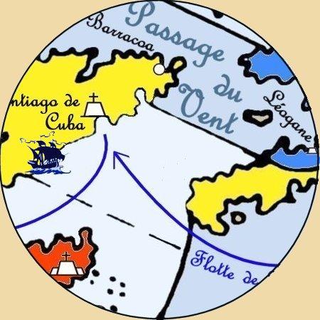 """Cabine du Capitaine Don Playmores dit """"l'Ogre de Bilbao"""" N-sant10"""