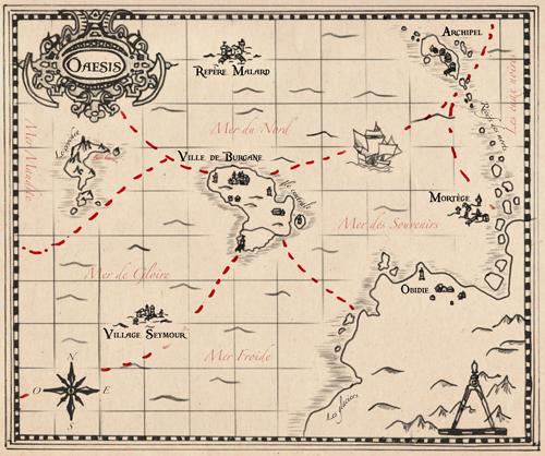 Les mers d'Oaesis - Portail Carte-10
